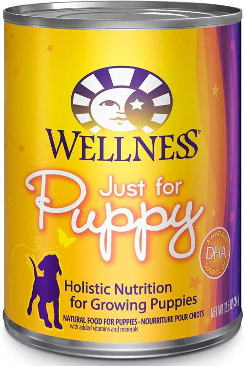Wellness Wet puppy food