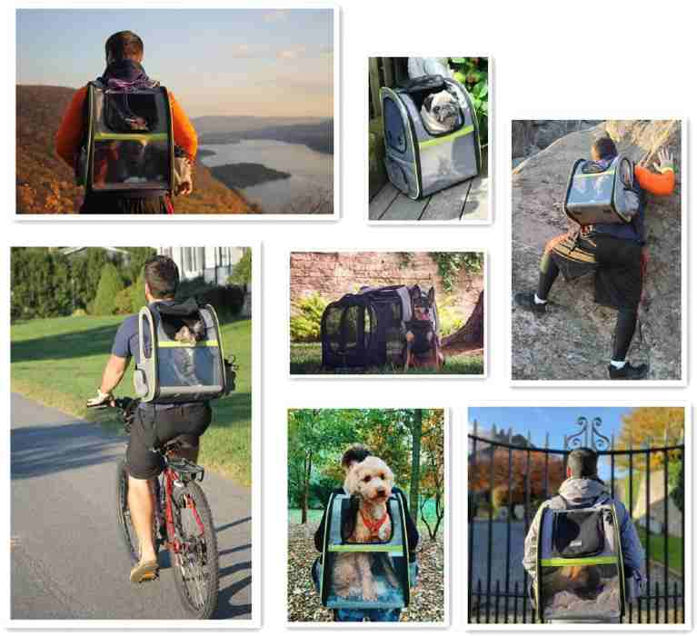 dog hiking backpack carrier