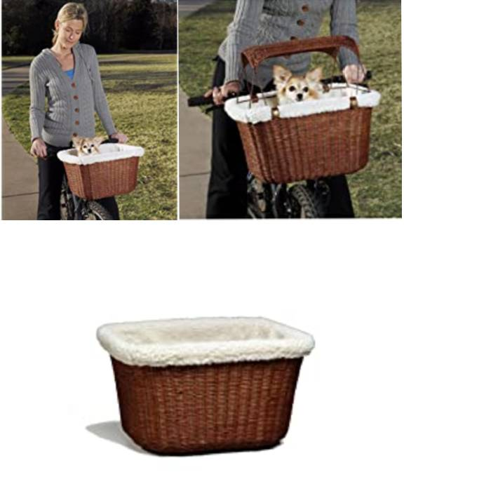 front bike basket for small dog