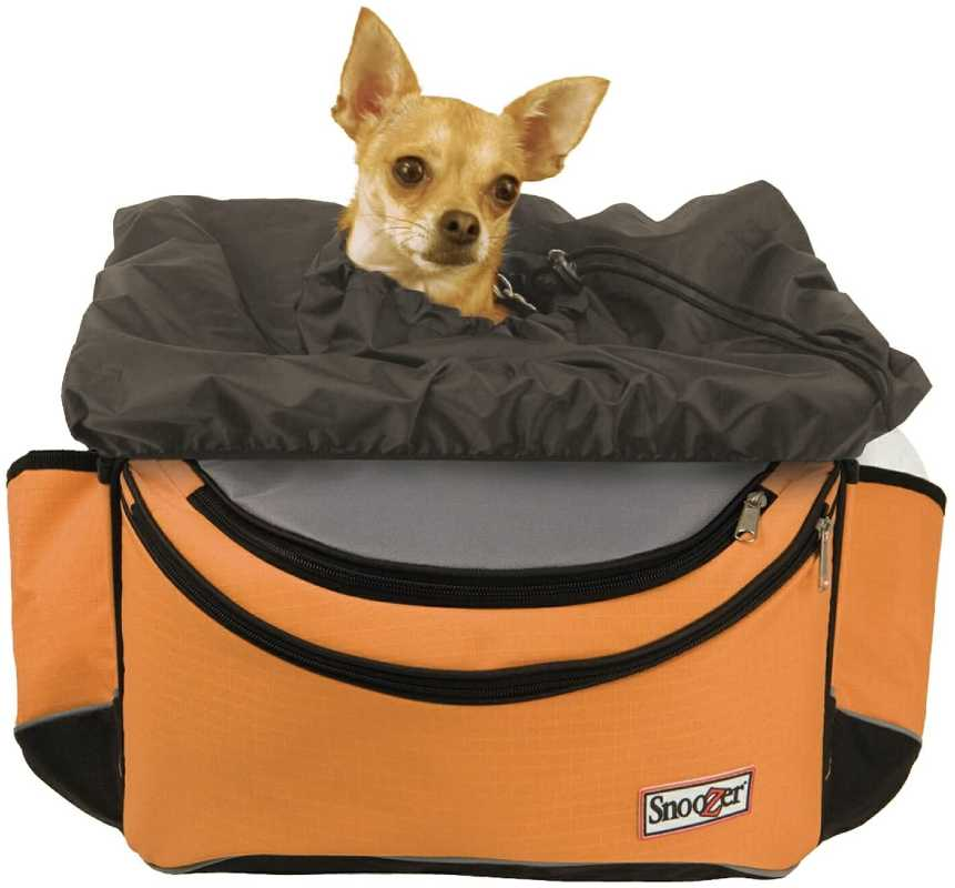 Front bike basket for small dogs