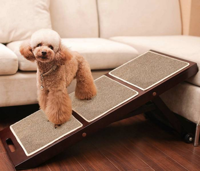 Adjustable Dog Ramp For Couch