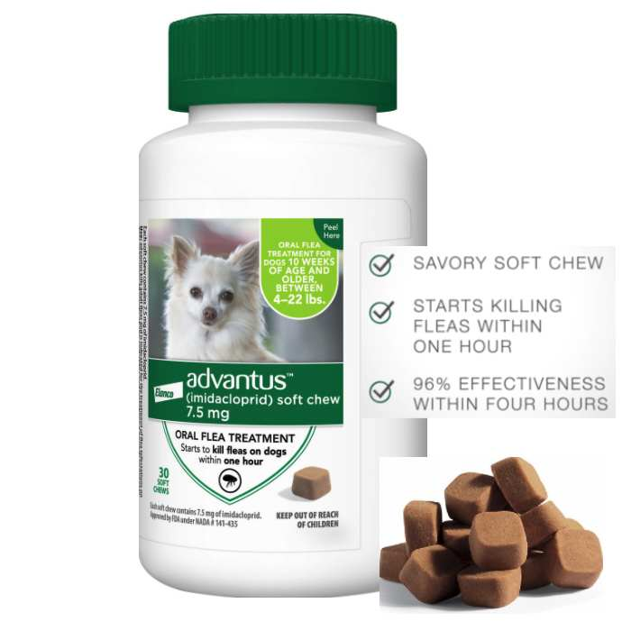 Advantus Flea Pills For Small Dogs