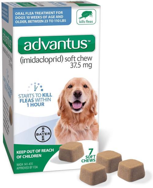 Advantus Flea Pills for Dogs