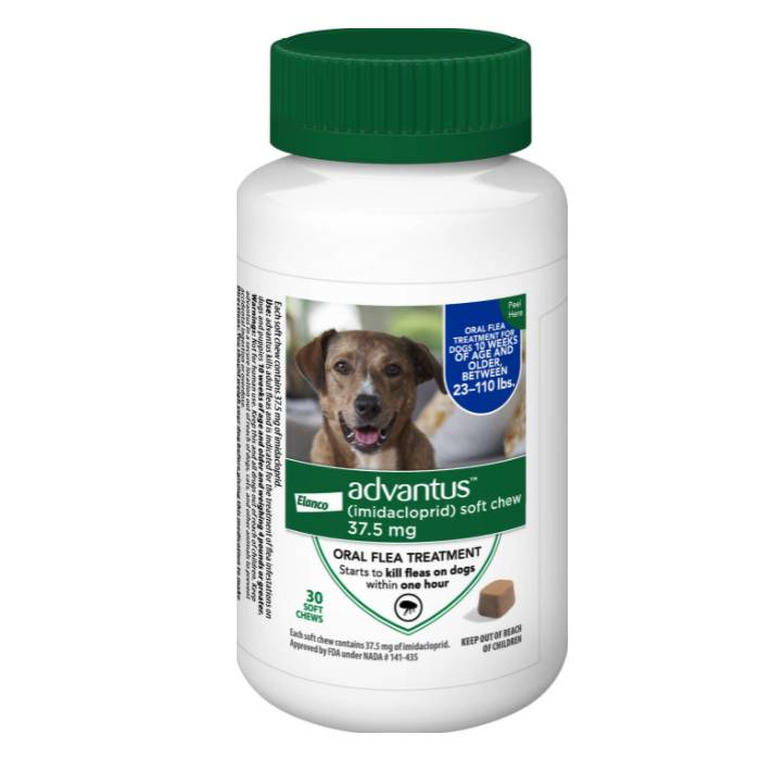 Advantus Flea Pills for Large Dogs
