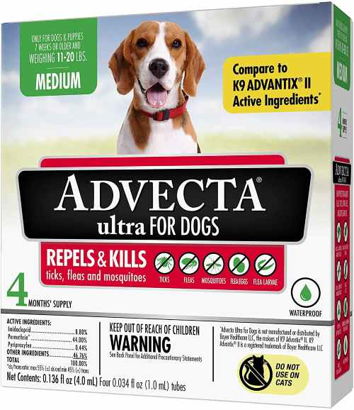 Advecta Flea and Tick Treatment for Dogs