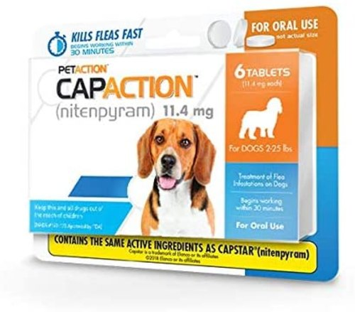 Capaction Flea Pills for Dogs
