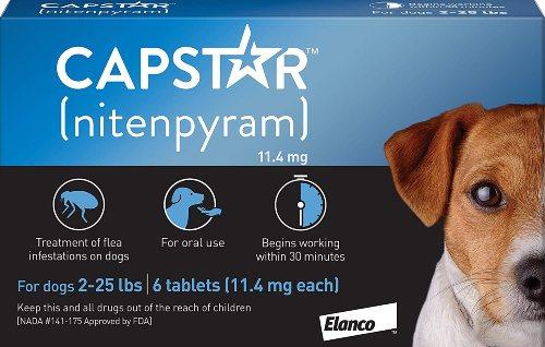 Capstar Flea Treatment for Dogs