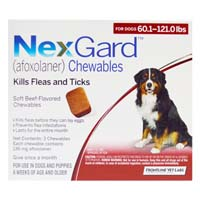 Nexgard Flea and Tick Treatment Oral Pill Chewables for Extra Large Dog