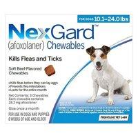 Nexgard Flea and Tick Treatment Oral Pill Chewables for Medium Dog