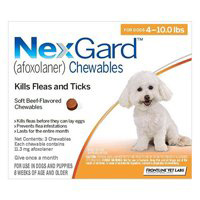 Nexgard Flea and Tick Treatment Oral Pill Chewables for Small Dog