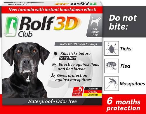 Rolf Club Flea Collar for Dogs