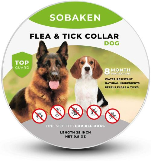 SOBAKEN flea and tick collar for dogs