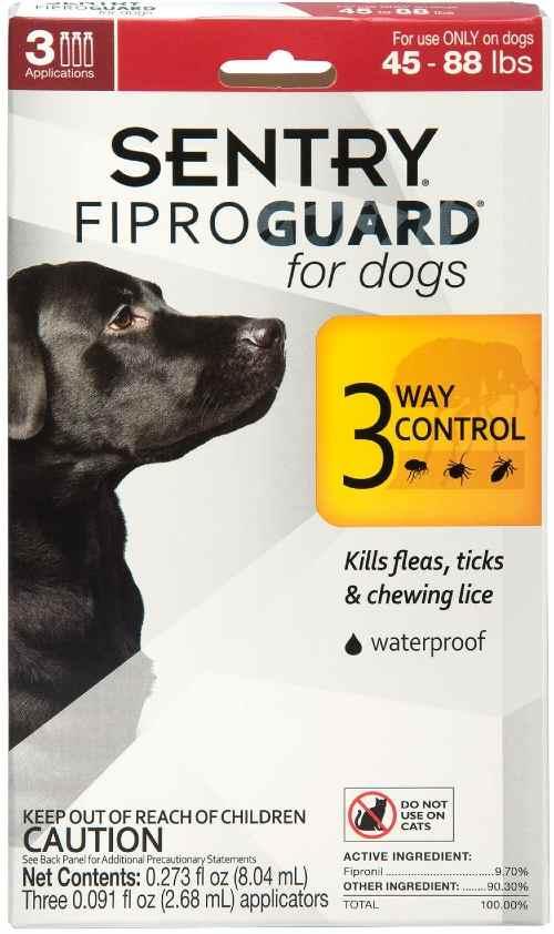 Sentry Flea treatment for dogs