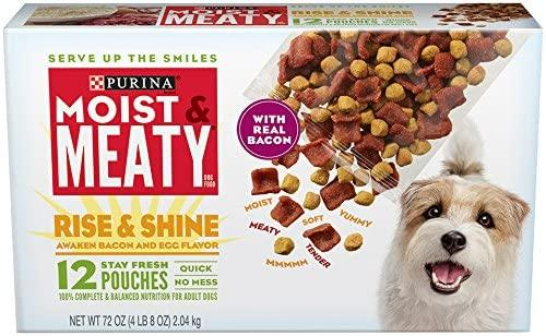 Purina Moist and Meaty Rise and Shine Dog Food