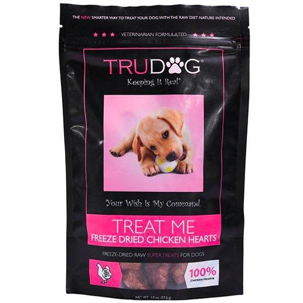 Freeze Dried Chicken Hearts Dog Treats