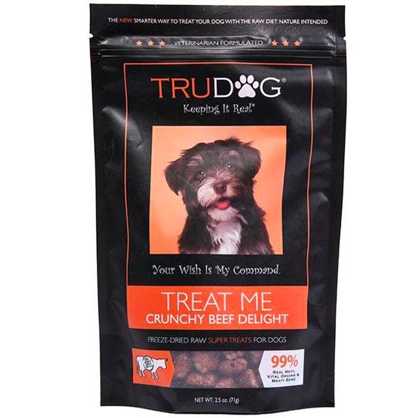 TruDog Freeze Dried Beef Dog Treats