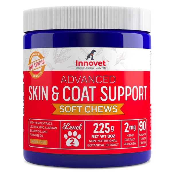 Dog Skin and Coat Supplement Chews