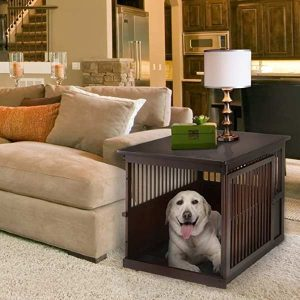 Richell Richell Wooden Large Dog Crate