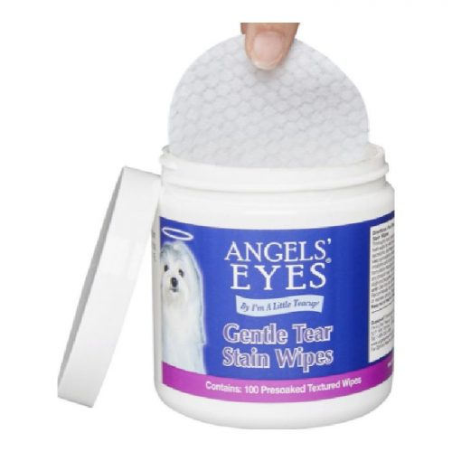 Angels Eyes Gentle Tear Stain Eye Wipes For Dogs