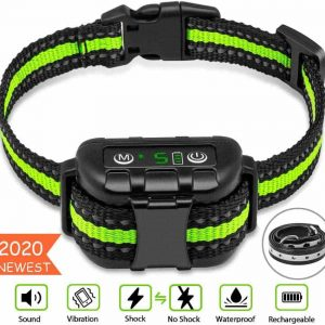 Bark dog shock collar