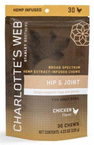 Charlotte's Web Hemp Extract CBD Hip & Joint Treats