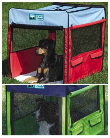 Collapsible Soft-Sided Dog Crate