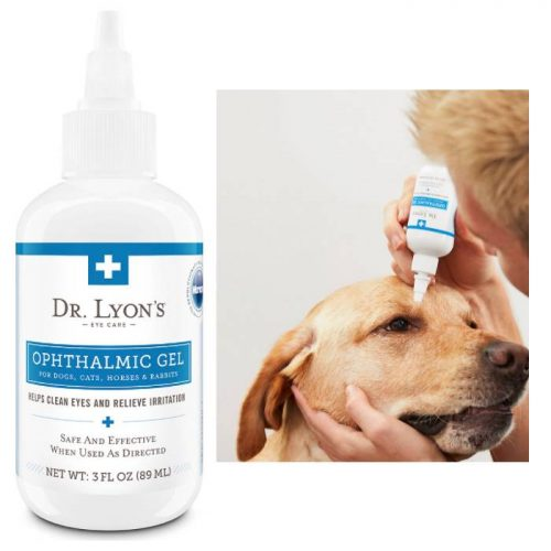 Dr. Lyon's Eye Care Ophthalmic Gel For Dogs