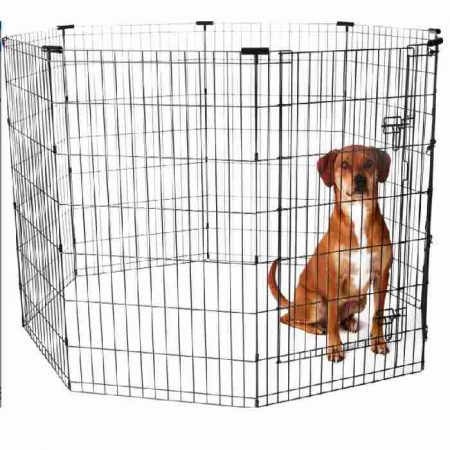 Frisco Wire Dog & Small Pet Exercise Pen with Step-Through Door
