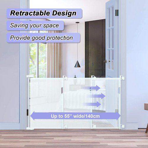 Probebi Retractable Dog Gate