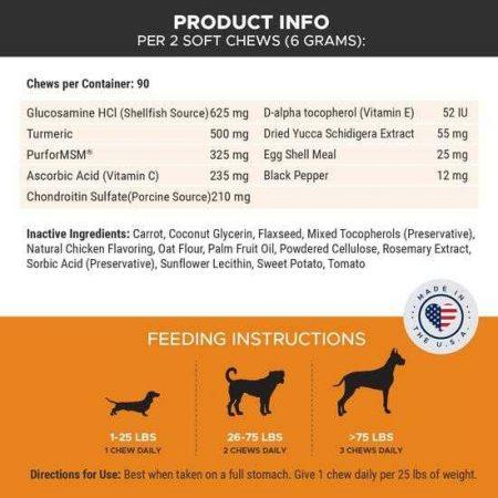 Pet Honesty Hip and Joint Supplement Info