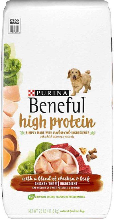 Purina Beneful High Protein Dog Food