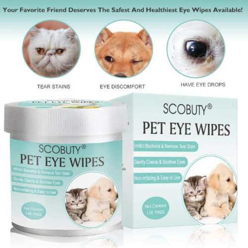 Tear Stain Remover Dog Eye Wipes