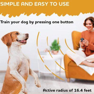 STOPWOOFER Ultrasonic Dog Silencer Anti Barking Deterrent Device