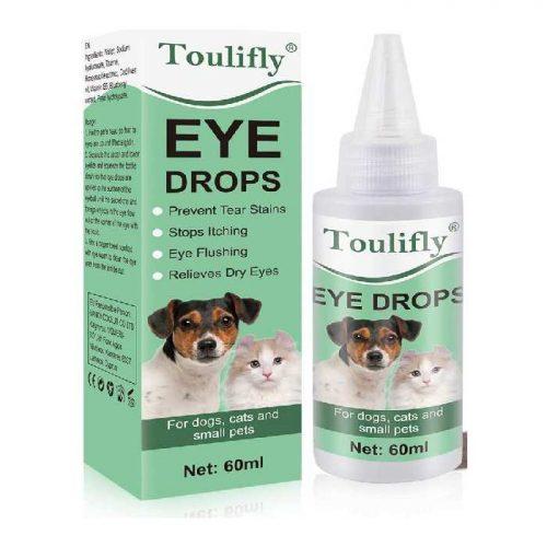 TOULIFLY Dog Eye Drops