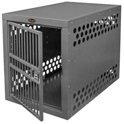 ZINGER DELUXE AIRLINE COMPLIANT IATA CR 82 TRAVEL HEAVY DUTY DOG CRATE