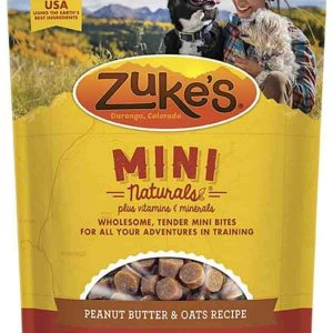 Zukes peanut butter dog treats